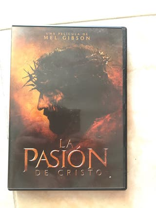 DVD La pasión de Cristo