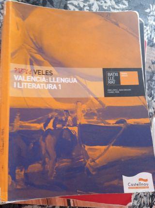 libro de valenciano de 1r bachillerato