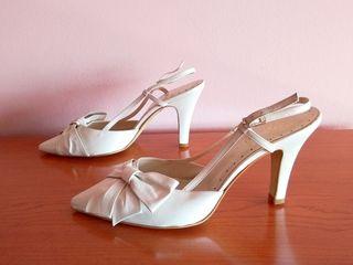 Zapatos mujer, boda, novia, fiesta, piel, España