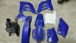 Placas gas gas azules
