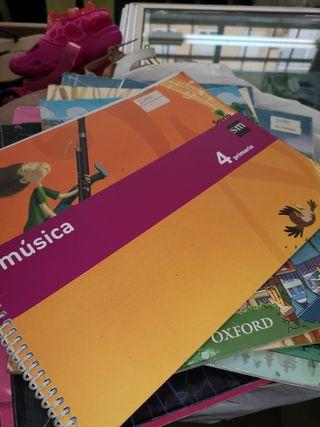 libros de texto 4º primaria