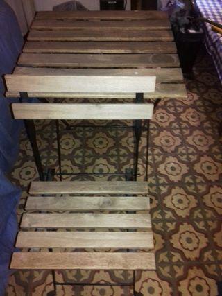 Conjunto de mesa y silla para terraza de segunda mano por for Conjunto de terraza ikea