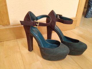 Zapatos Tacón La Provincia Verdes De Segunda Mano En O0P8wkXn