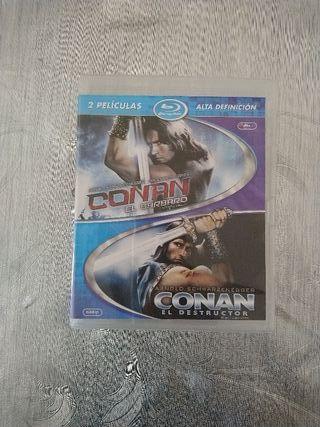 Doble Bluray Conan El Barbaro/Conan el Destructor