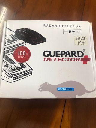 Radar detector Guepard 100% legal