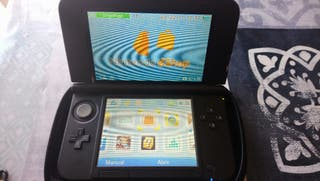 nintendo 3DS XL con funda Ram original