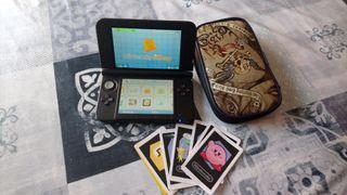 nintendo 3DS XL con funda Ram original