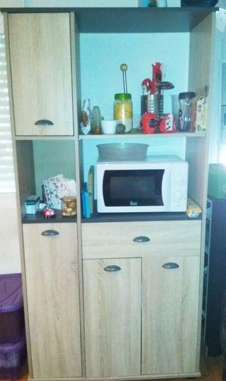 Mueble de cocina Conforama de segunda mano en Madrid en WALLAPOP