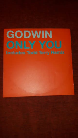 Vinilo GODWIN Only You (includes Todd Terry Remix)