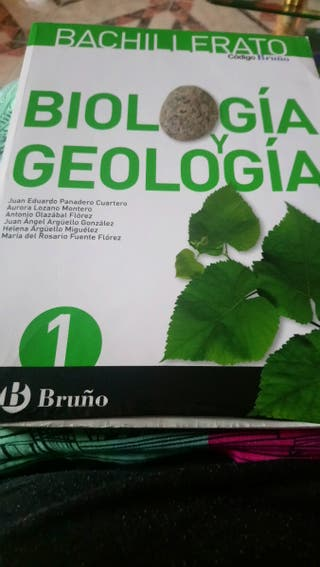 Biología y Geografía 1 de bachillerato