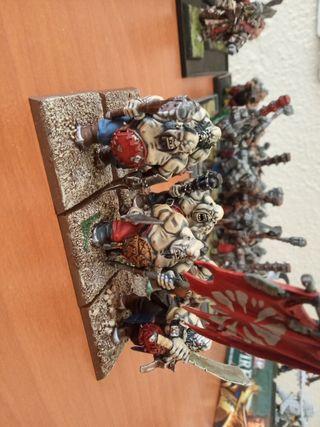 ogros toro Warhammer fantasy