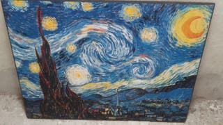 cuadro van gogh, la noche estrellada