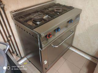cocina 2 fuegos y gran horno gas ciudad
