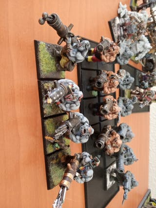 sueltafuegos ogros Warhammer fantasy