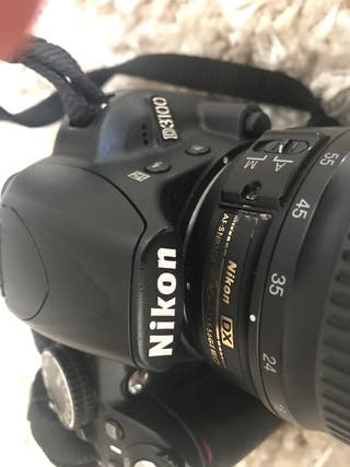 Nikon D3100 + 2 objetivos