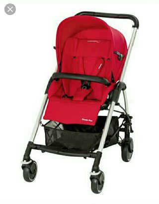 Cochecito bebé Streety Bebe Confort silla y capazo