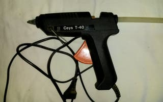 Pistola encoladora silicona
