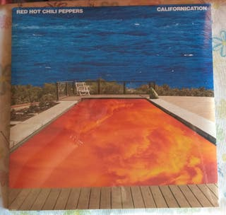 Red Hot Chili Peppers Californication vinilo 2xlp