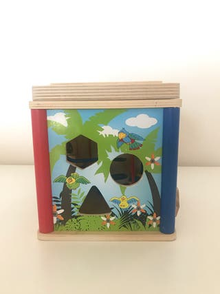 Juego interactivo madera aprendizaje juguete