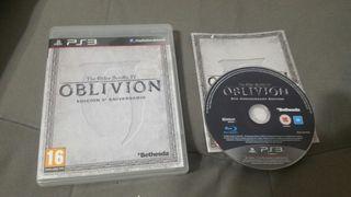 Vendo oblivion edicion 5 aniversario de ps3