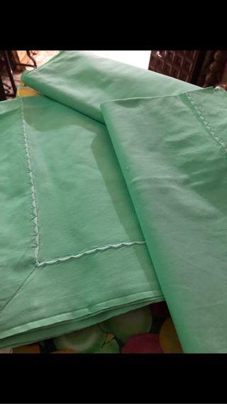 Sabana antigua de algodón completa