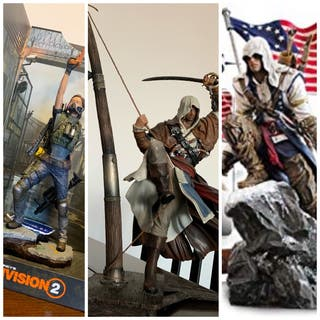 Figuras assassin's creed y the division 2