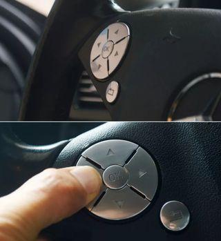 botones inox mercedes w204 w212