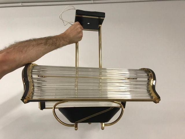 lámpara antigua de despacho