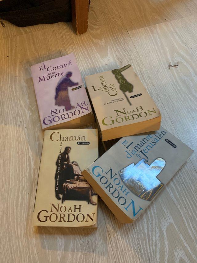 Pack libros Noah Gordon