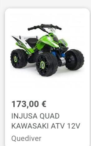 quad de bateria 12 v INJUSA