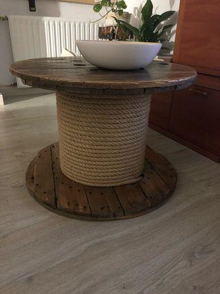 Bovina madera y cuerda