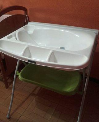 Cambiador/bañera Bebé