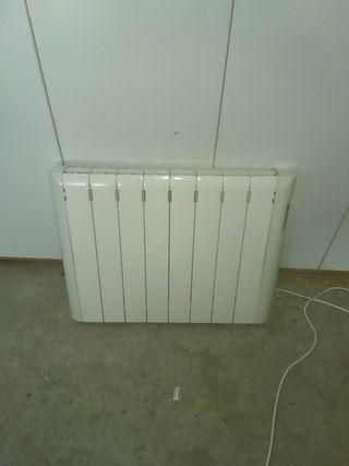 radiador eléctrico calor azul bajo consumo
