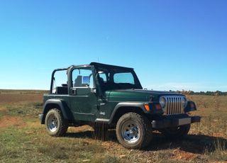 Jeep Wrangler TJ 2. 5 gasolina soft top