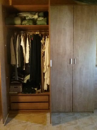 Conjunto armario + cómoda IKEA