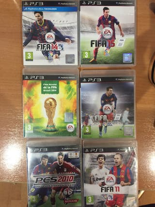 Pack lote FIFA y pro