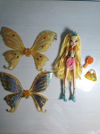 Muñeca Winx Club Stella glam enchantix
