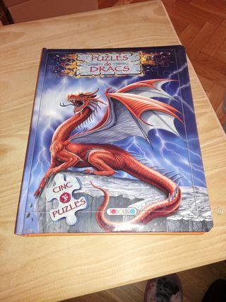 Libro de 5 puzzles.