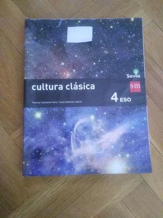 vendo libro cultura clàsica 4 ESO