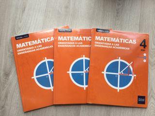 Matemáticas 4 eso académicas