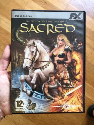 Sacred, la leyenda del arma sagrada.