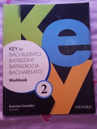 Libro inglés Workbook 2n bachillerato