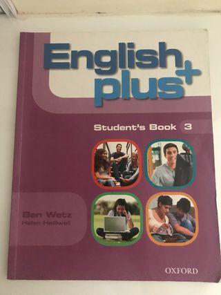 Libro escolar. English plus. Student's book 3.