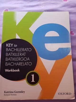 Libro ingles Workbook 1r bachillerato