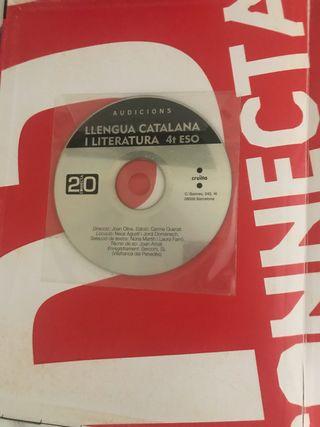 Libro escolar. Llengua catalana i literatura 4teso
