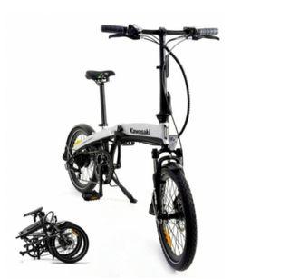 Bicicleta electrica kawasaki