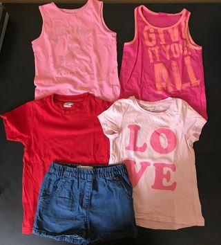 Lote ropa verano niña 3/4 años