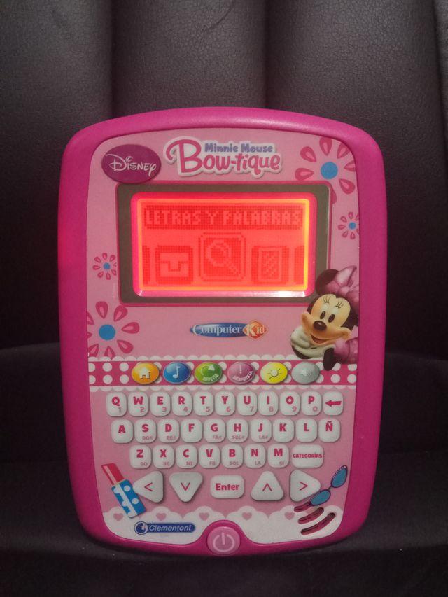 Computer kid disney minnie mouse ordenador Bowtiqu