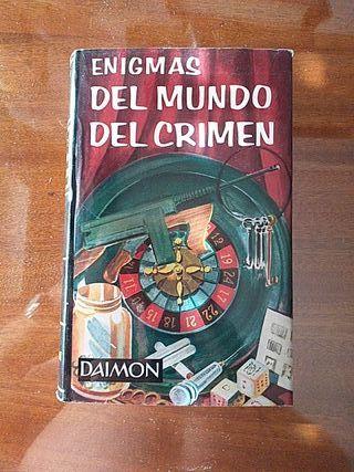 """LIBRO:""""ENIGMAS DEL MUNDO DEL CRIMEN"""""""