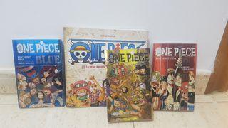 Lote libro y guías one piece manga